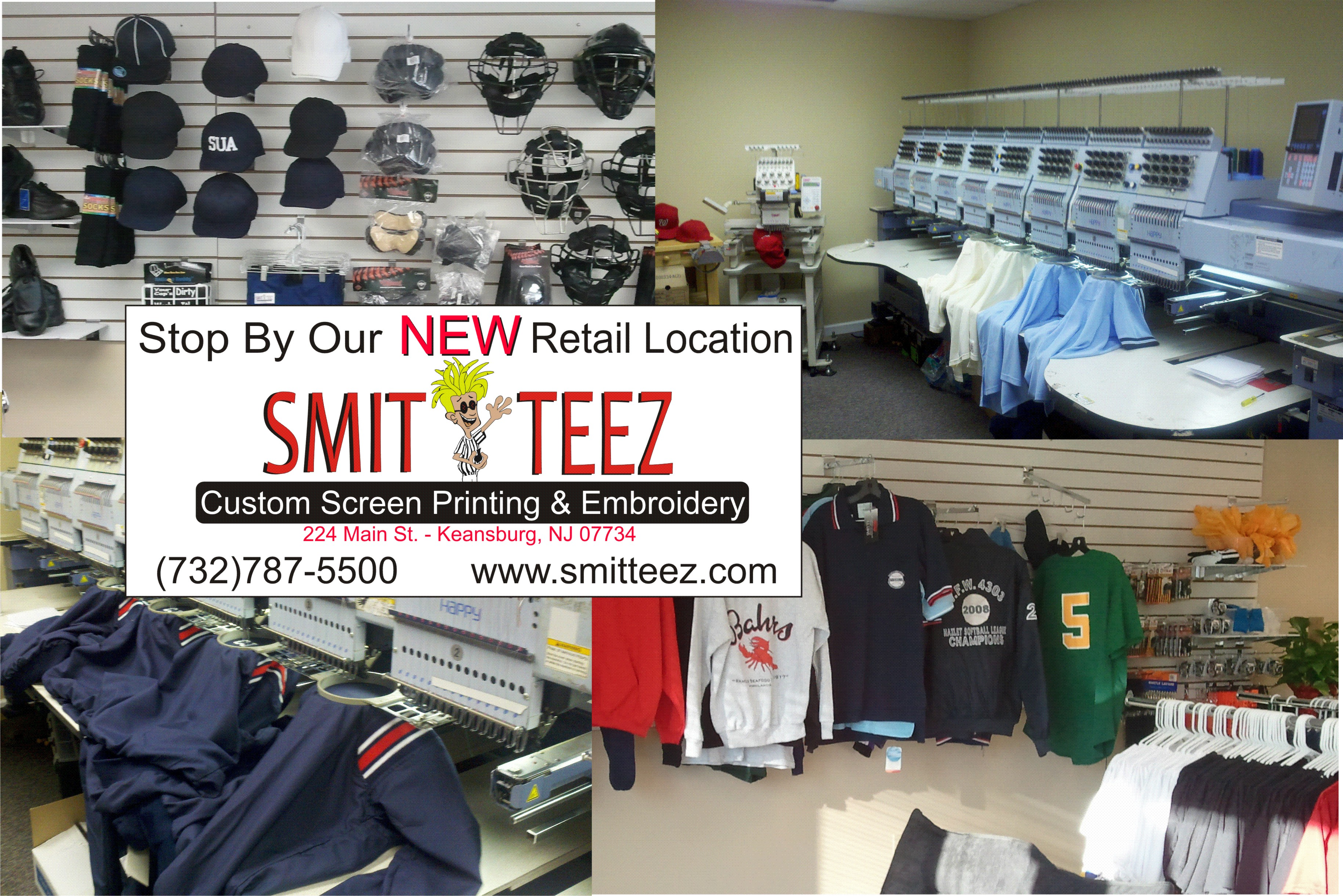 Smitteez Sportswear - Custom Screen Printing and Embroidery